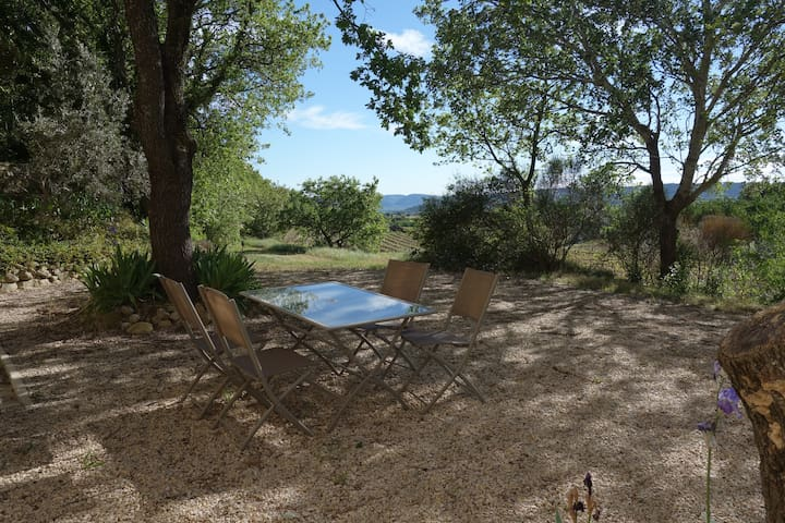 Large apartment in the countryside with nice view - Cucuron - Apartment