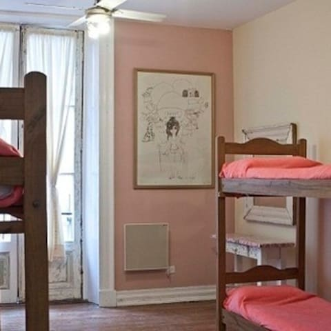 One bed in  female room (6 beds)