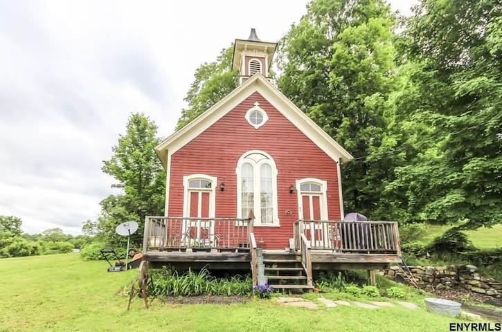 Charming 1850 Schoolhouse 16 Miles from Saratoga