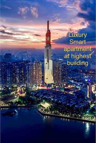 Luxury smart apartment in the highest building in Việt Nam!