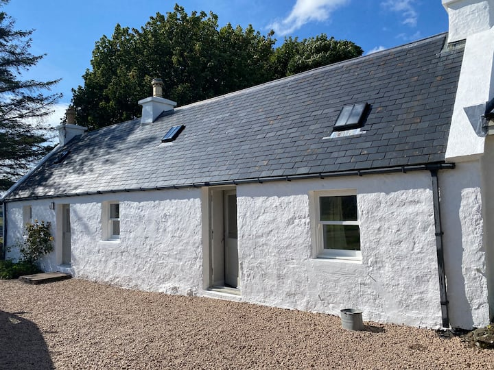 Luxury cottage near Portree on the Isle of Skye