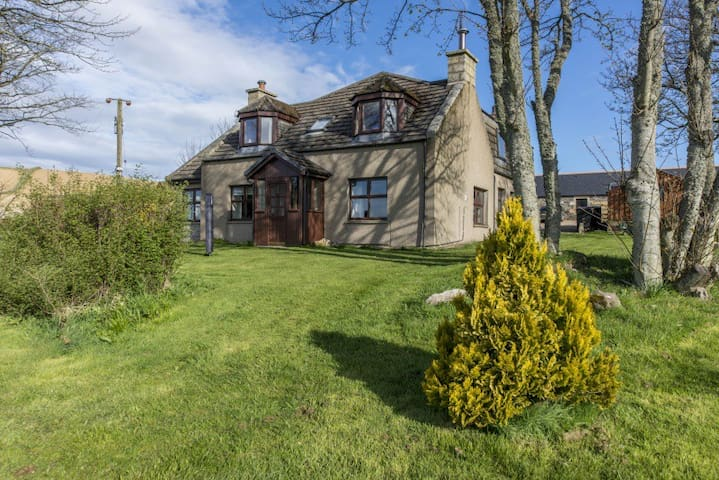 Home comforts with stunning countryside & coastal - Inverkeithny - House