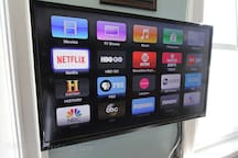 COX Cable, HBO, Apple TV, Showtime, ESPN, Netflix and more.