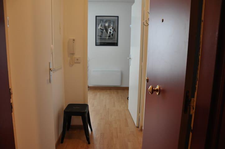 Couloir d'entrée / Entrance door