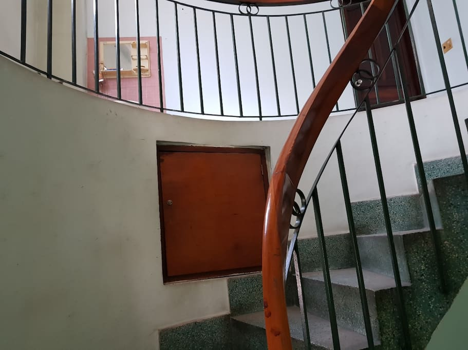 The classic spiral stair case