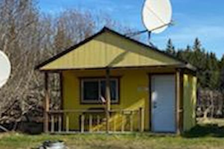 Dry Cabin with restrooms, laundry on premises
