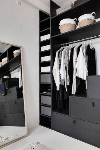 Wardrobe in bed Room