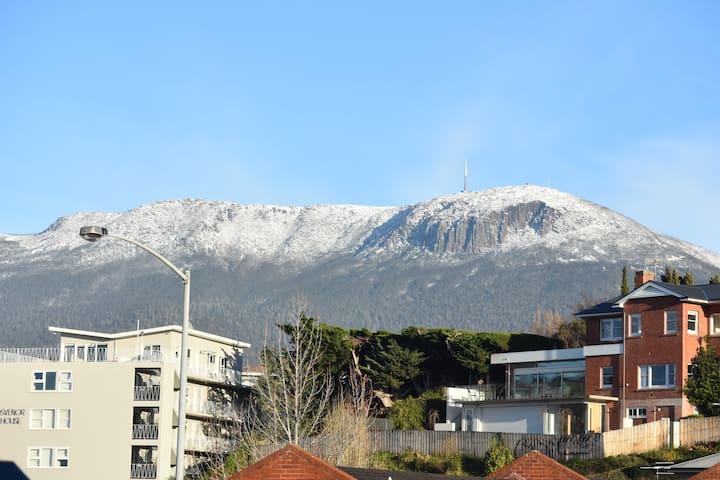Hobart winter