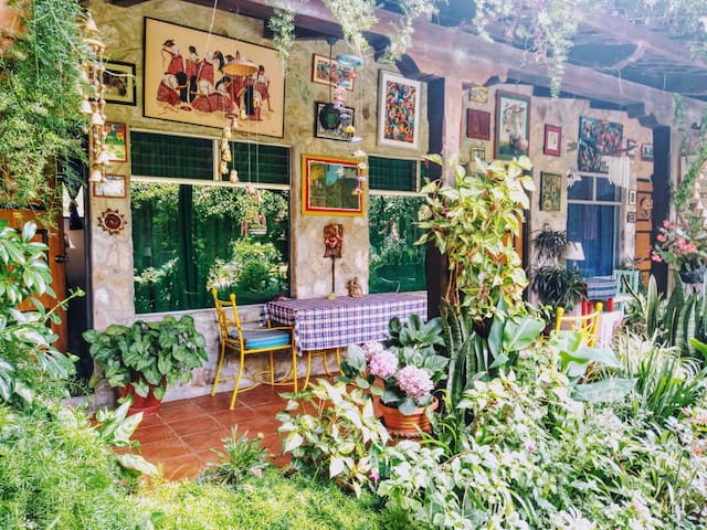 Rose Room | Peaceful Antigua home, garden oasis