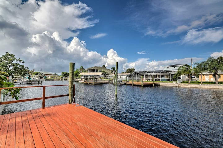 Canalfront Hudson Home w/Private Dock & Yard!