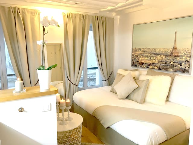 Tour Eiffel, Saint Germain des Prés, Montparnasse - Paris - Appartement