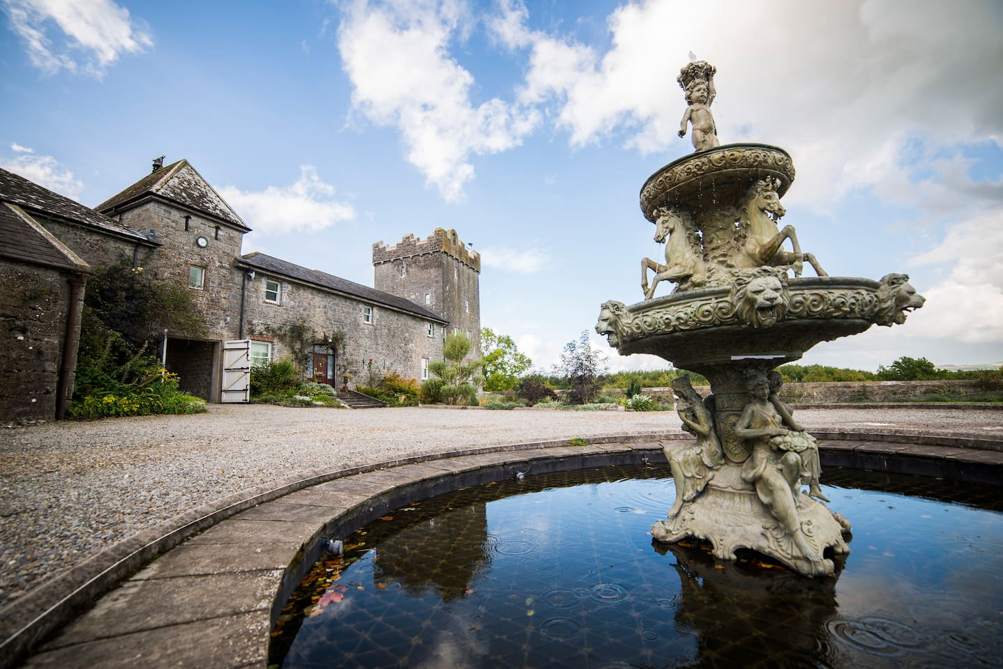 Luxurious restored Irish castle