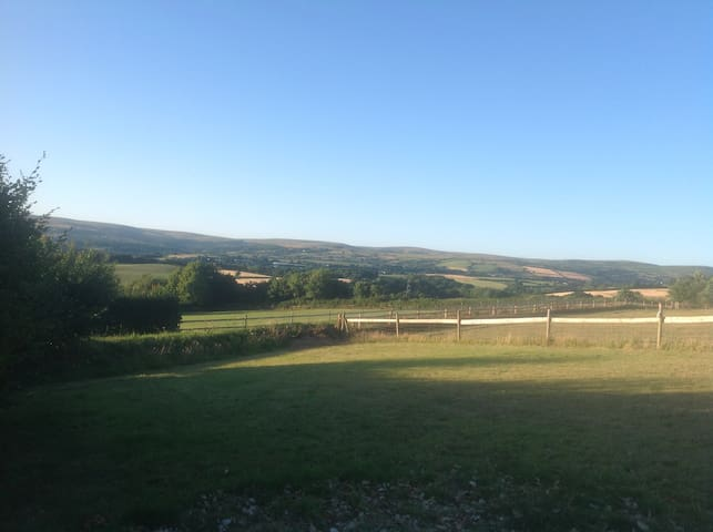 Spectacular views from garden and both guest bedrooms