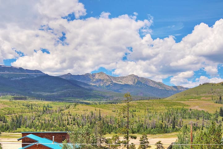 The views from Powder Moose Villa cannot be beat!