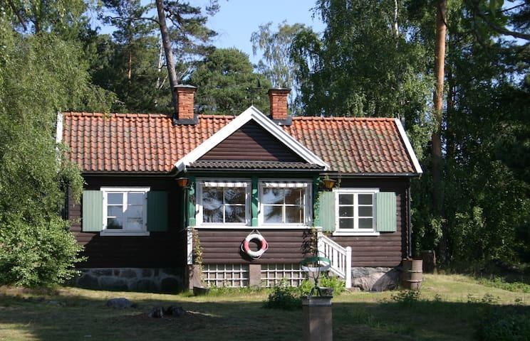 Hus vid havet i Stockholms skärgård - Lidingö - 獨棟