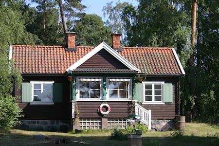 Hus vid havet i Stockholms skärgård - Lidingö