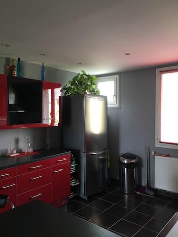 T2 proche de lyon 20 min - Montluel - Apartamento