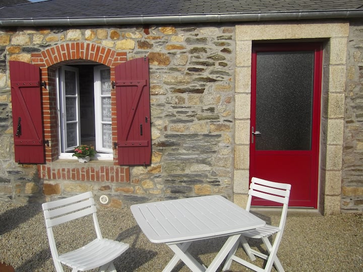 Petite maison  en baie de Morlaix(Finistère)