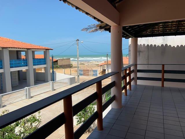 Casa duplex beira-mar na Praia Peito de Moça
