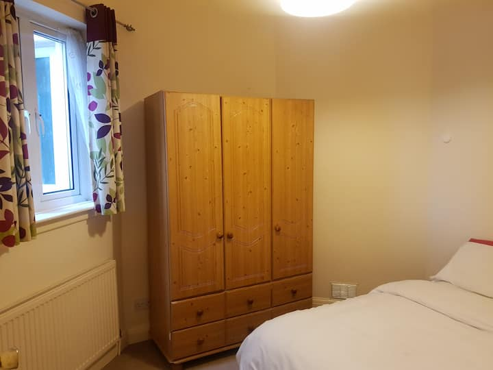 A comfortable double room is available to rent