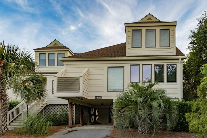 Fabulous Ocean View 3BR Spinnaker! Steps to Beach, Pools, Dining, Golf!