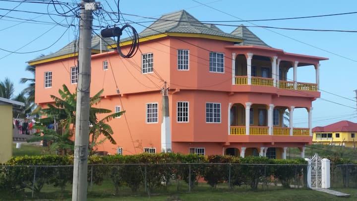 A modern residential family home