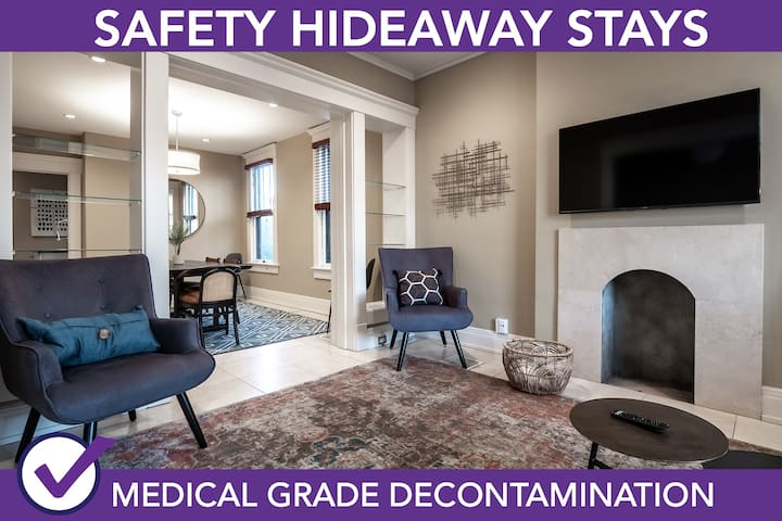 Safety Hideaway - Medical Grade Clean Home 124