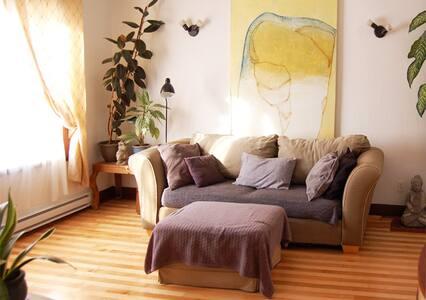 Cozy and warm 2 bedrooms, Verdun - Montréal - Huoneisto