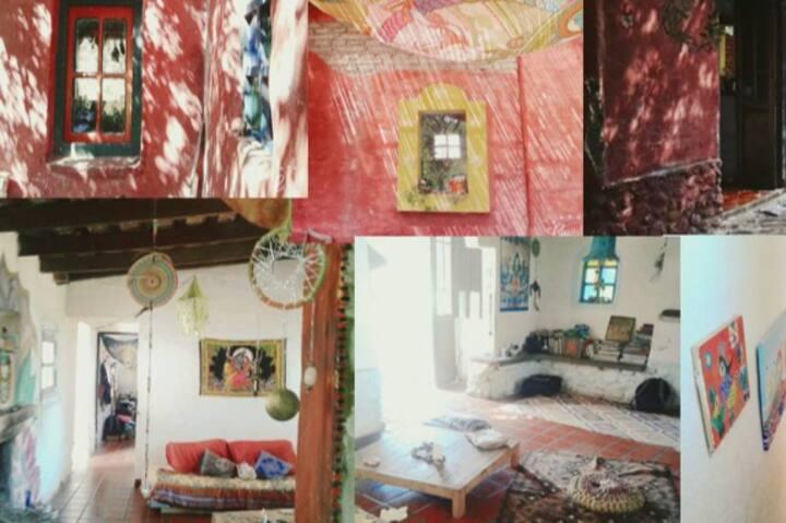 Cuarto cama doble Samadhi punto de luz, 2 personas