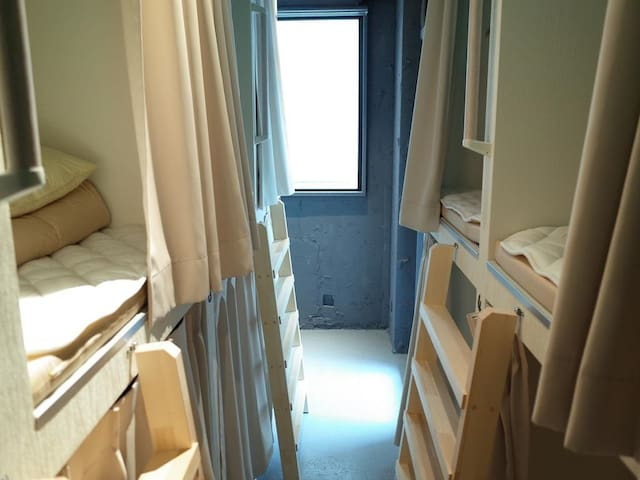[1min->Yotsuya Sanchome Sta.]1 bed in Mixed Dorm