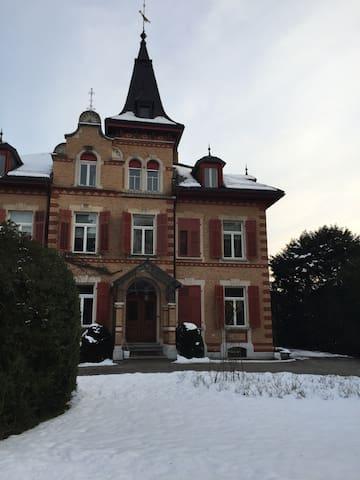 Herrschaftliches Wohnerlebnis - Solothurn - Apartemen