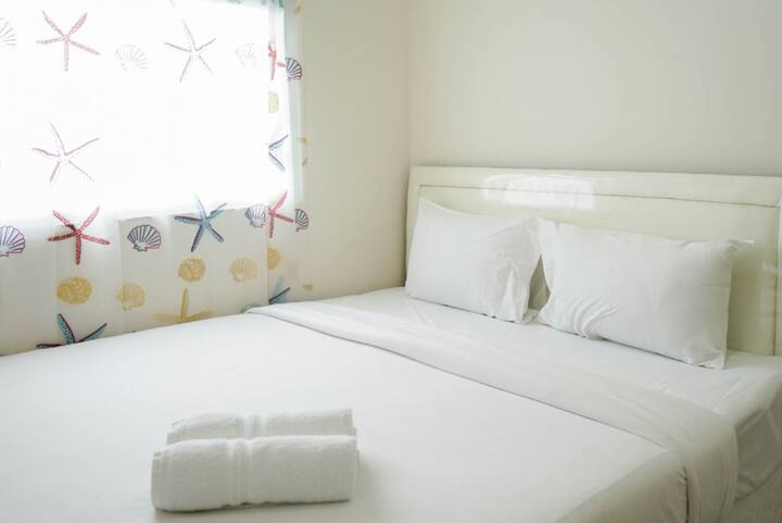 Comfortable 2BR Apartment Green Pramuka near Mall