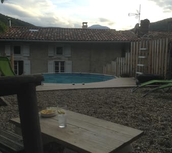 Beautiful house with annex and pool - Lesparrou