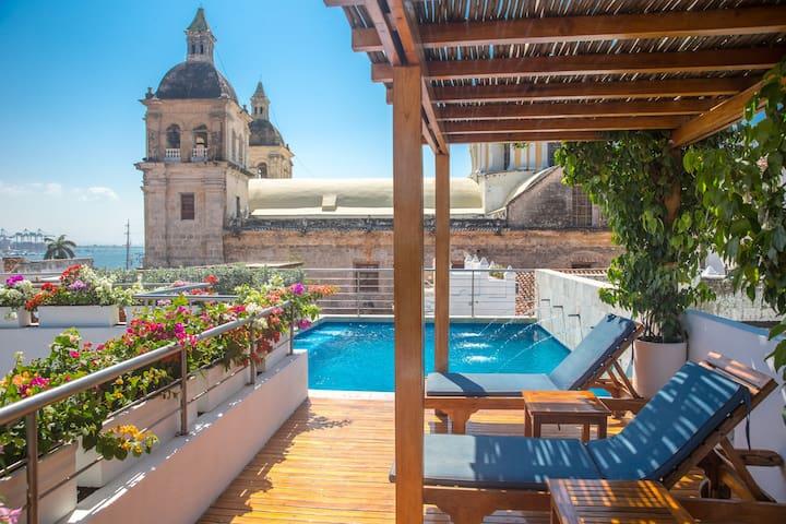 Casa Claver Colonial - Cartagena - Hotel boutique