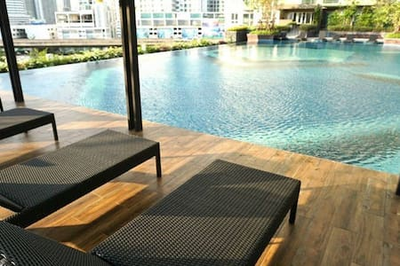LP1 COZY 1 BEDROOM/GOOD LOC/H.SPEED WIFI - Bangkok - Apartemen