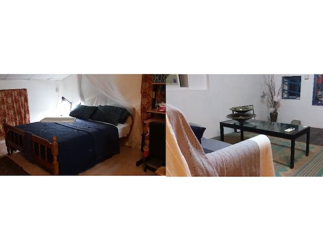 Spacious Attic Studio with Bedroom & Sitting Room - Hong Kong - Bed & Breakfast
