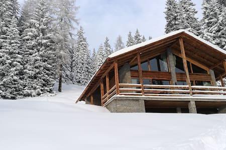"""""""Chalet Alpen"""", sulle piste da sci"""