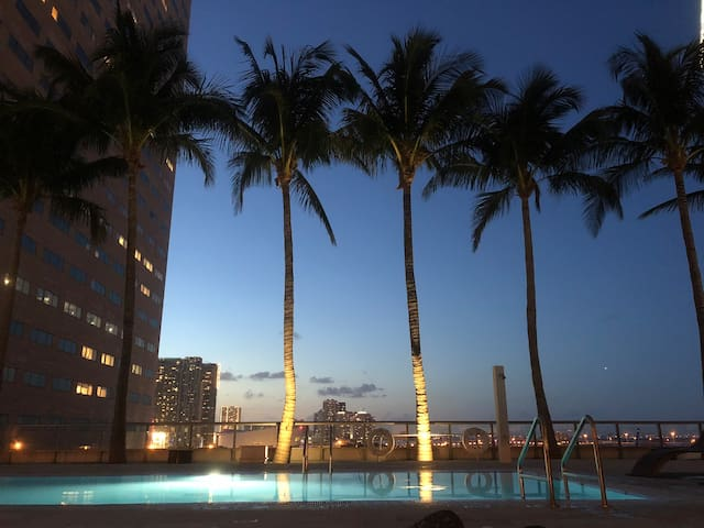 Ocean view apartment in Brickell/Dtwn