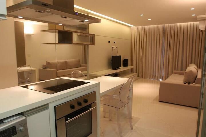 Lindo apartamento às margens do lago paranoá - Brasília - Huoneisto