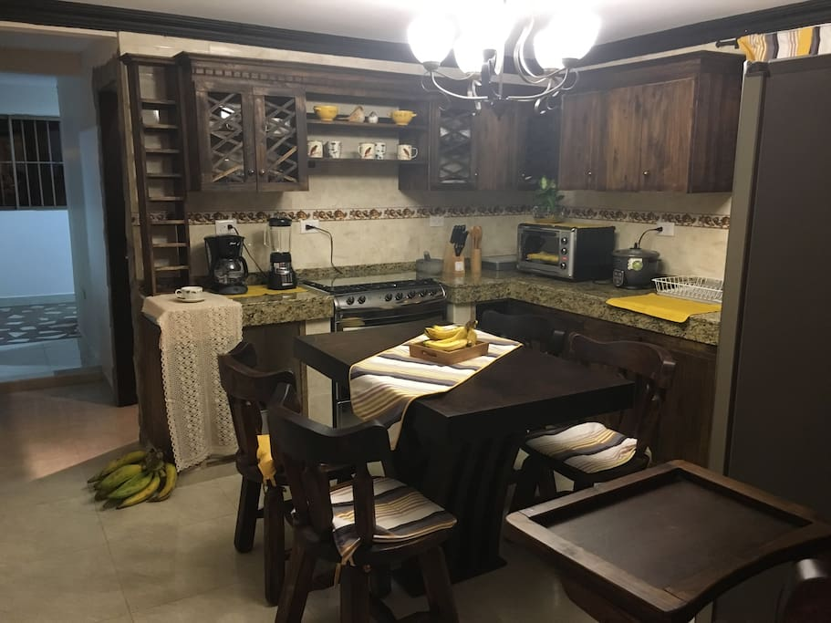 Cocina full + comedor