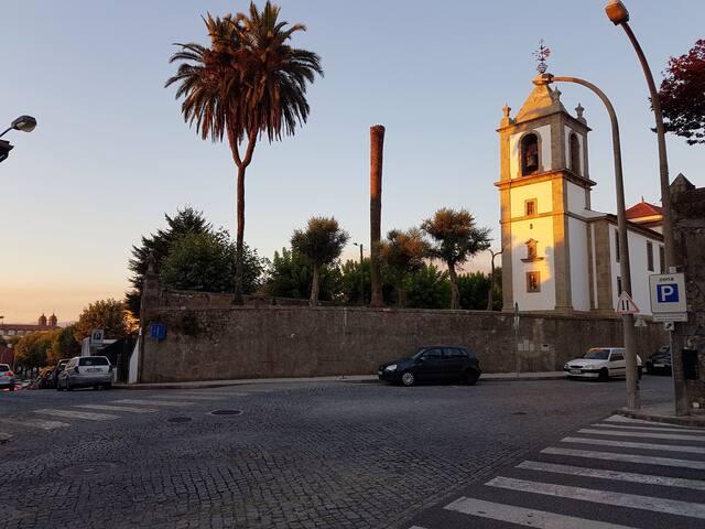 Braga Historic Centre-Roman ruins view - Braga - Wohnung