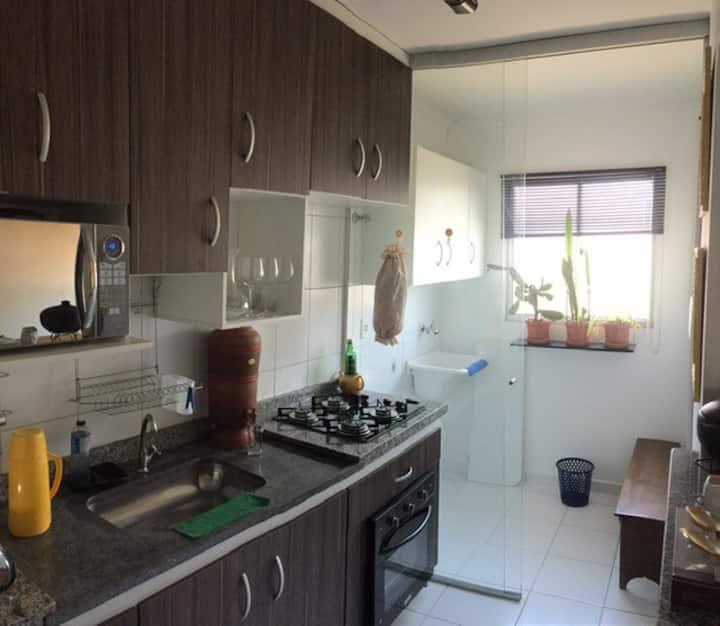 Apartamento Condomínio Fechado/Recanto da Zona Sul