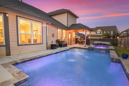 Pool + Friendly Hosts next to i10 near Katy Mills! - Brookshire - Casa
