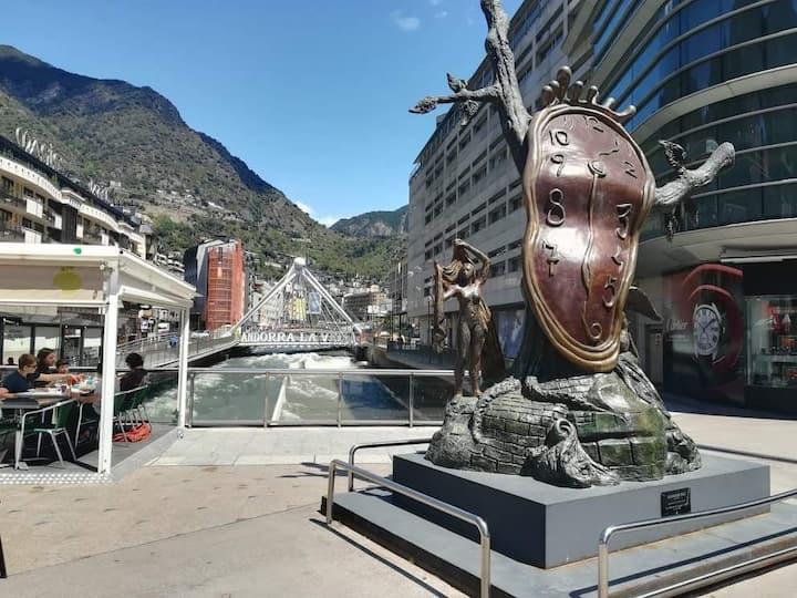 Apartamento con encanto en el centro de Andorra