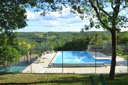 maison 145 m2 avec piscine à débordement - Flaujac-Poujols