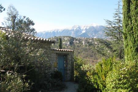 Mas Provençal  face au Ventoux - Plaisians
