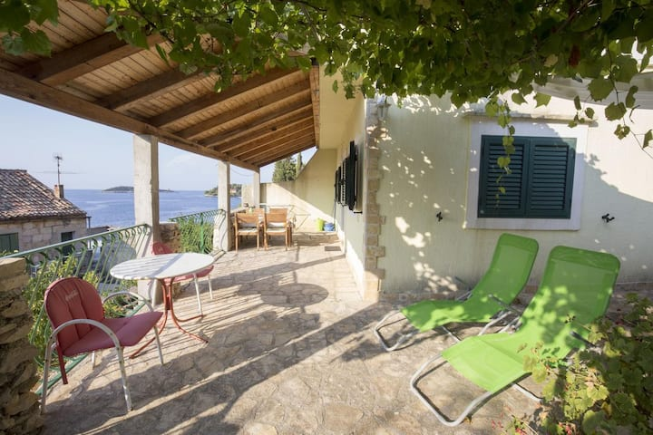 One bedroom apartment near beach Vis (A-17960-a)