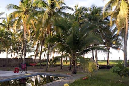 Peaceful Beachfront House, Costa del Sol, El Salv