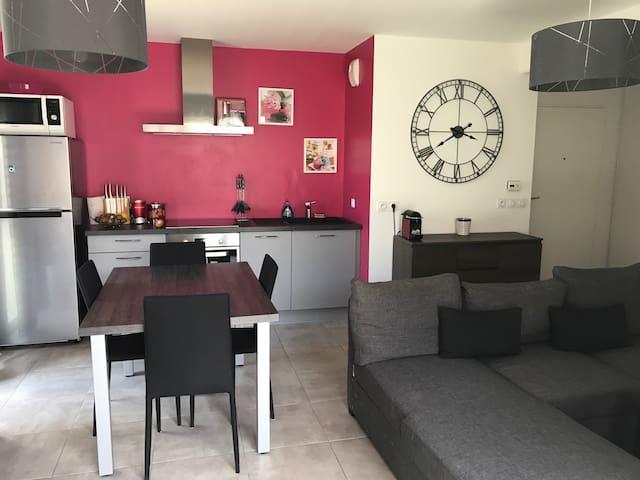 Chambre dans appartement proche de Perpignan - Canohès - Apartment