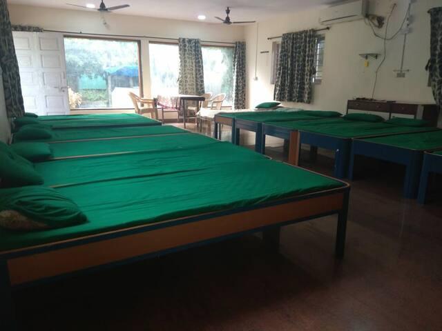 Dormitory with pool near bordi beach